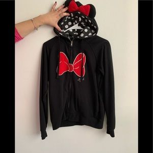 Disney Minnie Mouse zip up sweater